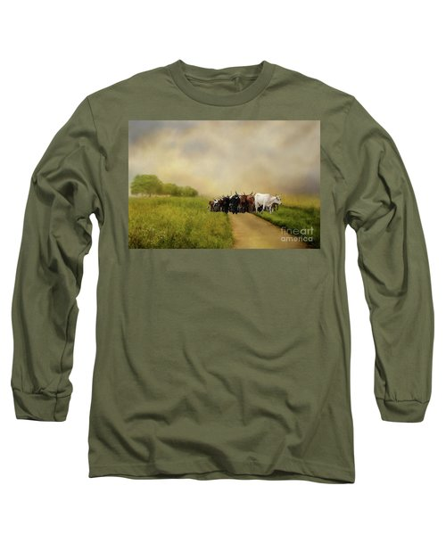 Bringing The Herd Home Long Sleeve T-Shirt