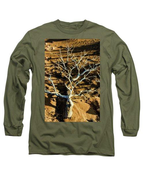 Brins Mesa 07-104 Stripped Bare Long Sleeve T-Shirt by Scott McAllister