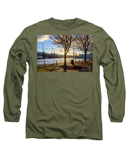 Bristol Harbour Long Sleeve T-Shirt by Colin Rayner