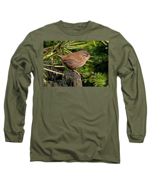British Wren Long Sleeve T-Shirt