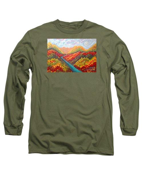 Brivant Long Sleeve T-Shirt by Holly Carmichael
