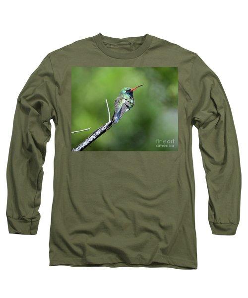 Broad-billed Hummingbird Long Sleeve T-Shirt