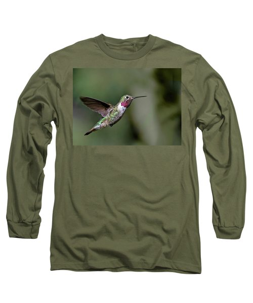 Broad-tailed Hummingbird Male Long Sleeve T-Shirt