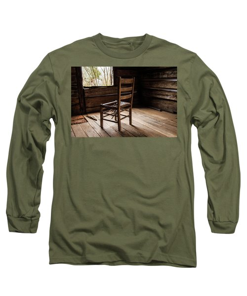 Broken Chair Long Sleeve T-Shirt