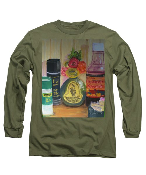 Broken Egg Tableart Long Sleeve T-Shirt
