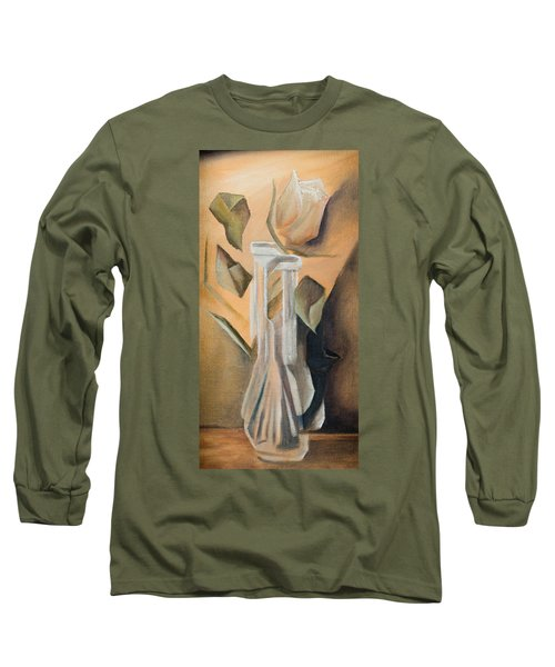 Broken Rose Long Sleeve T-Shirt