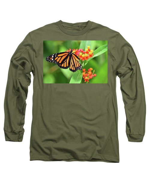Broken Wing Butterfly Long Sleeve T-Shirt