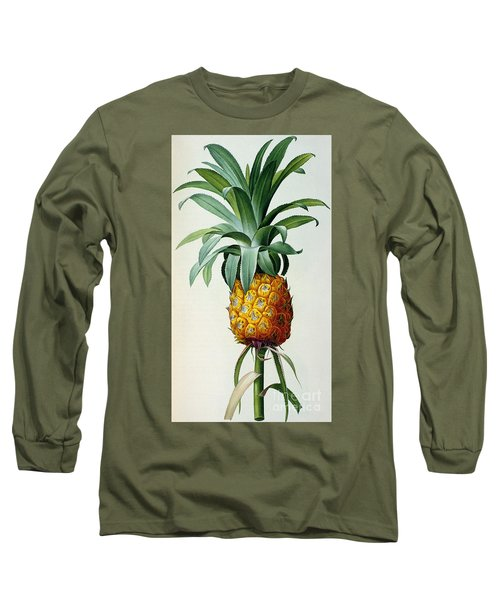 Bromelia Ananas, From 'les Bromeliacees' Long Sleeve T-Shirt