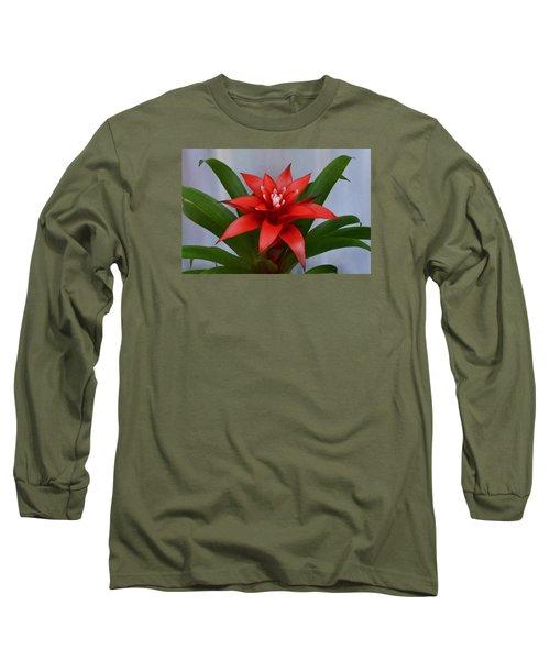 Bromeliad Long Sleeve T-Shirt by Terence Davis