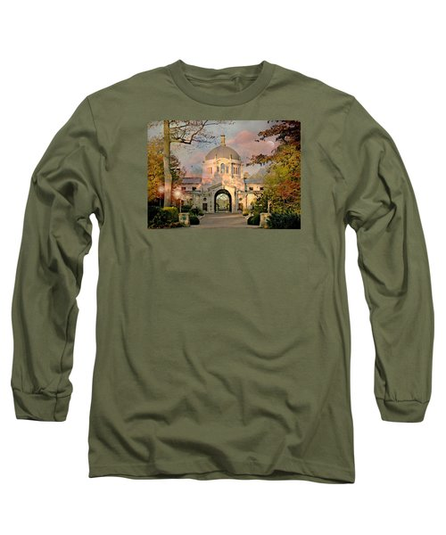 Bronx Zoo Entrance Long Sleeve T-Shirt by Diana Angstadt