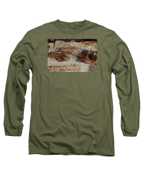 Bronze Symmetry Long Sleeve T-Shirt