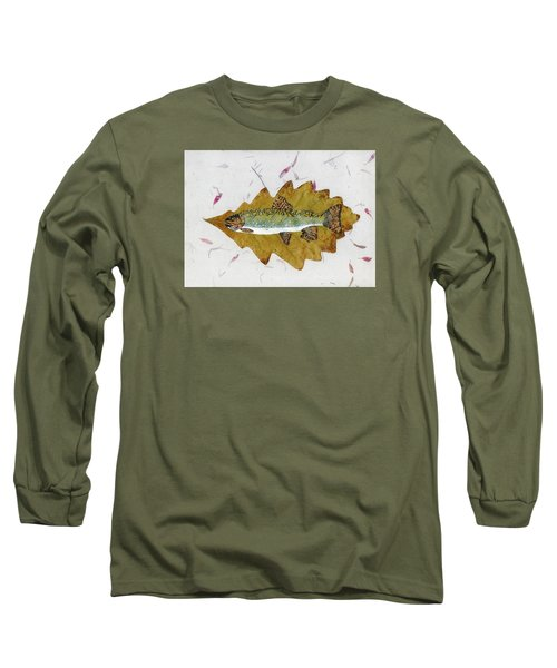 Brook Trout Long Sleeve T-Shirt by Ralph Root