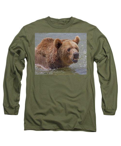 Brown Bear 10 Long Sleeve T-Shirt