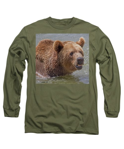 Brown Bear 10 Long Sleeve T-Shirt