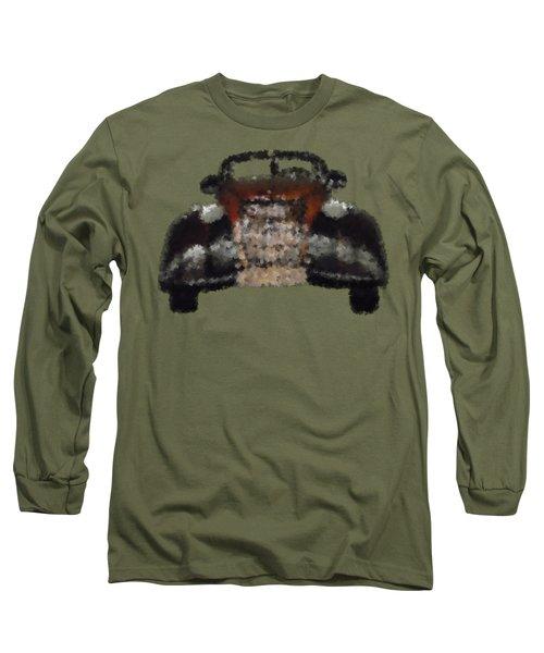 Brown Car Long Sleeve T-Shirt by David and Lynn Keller
