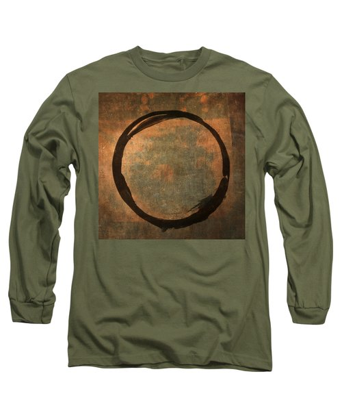 Brown Enso Long Sleeve T-Shirt