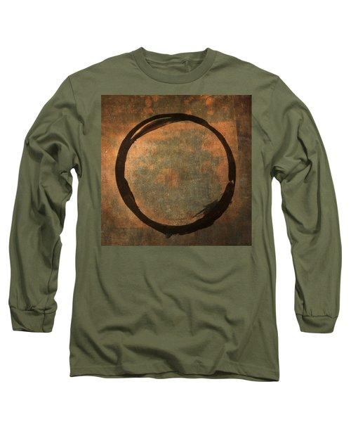 Brown Enso Long Sleeve T-Shirt