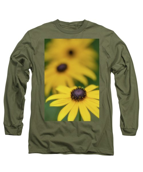 Brown Eyed Susan Long Sleeve T-Shirt