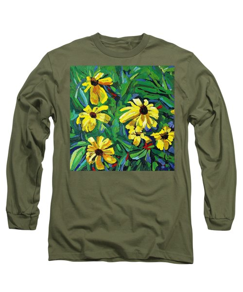 Brown-eyed Susans Long Sleeve T-Shirt