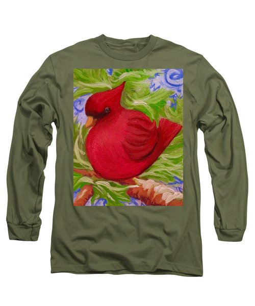 Brrr Bird Long Sleeve T-Shirt