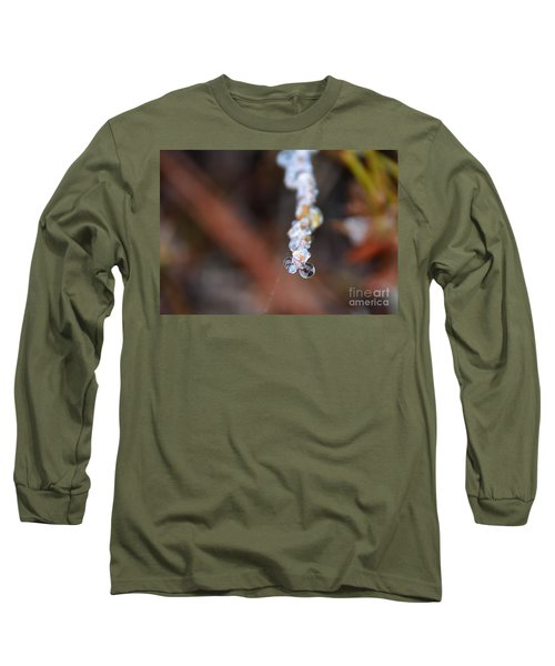 Bubble Eyed Water Drops- Loganville Georgia Long Sleeve T-Shirt