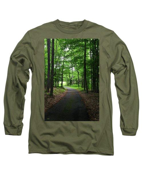 Buckner Farm Path Long Sleeve T-Shirt by Dana Sohr