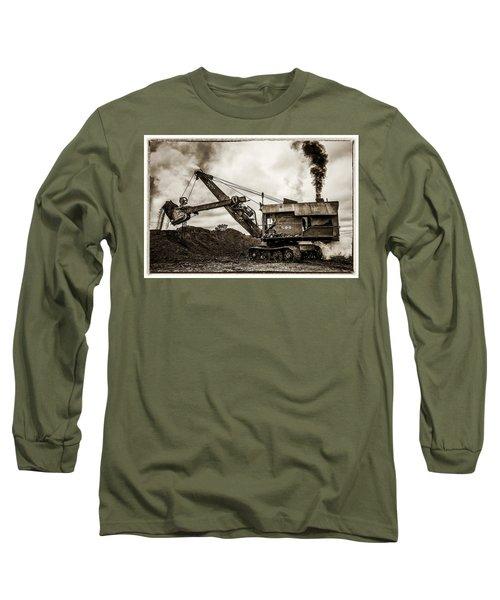 Bucyrus Erie Shovel Long Sleeve T-Shirt