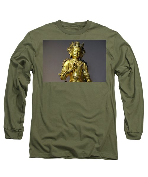 Long Sleeve T-Shirt featuring the photograph Buddha Protection by August Timmermans