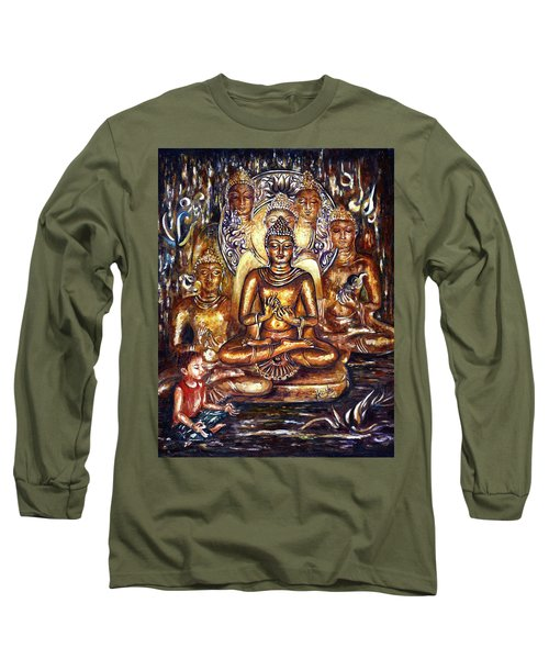 Buddha Reflections Long Sleeve T-Shirt