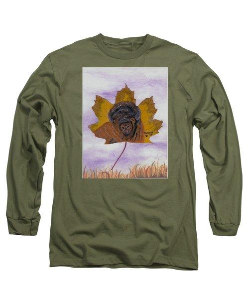 Buffalo Profile Long Sleeve T-Shirt