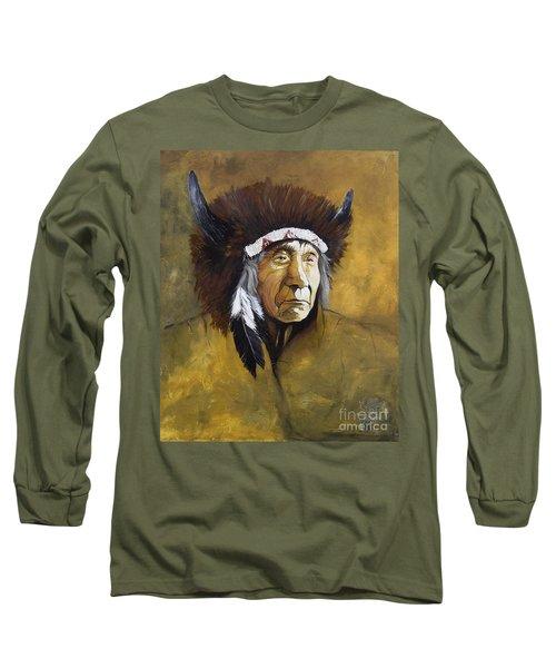 Buffalo Shaman Long Sleeve T-Shirt