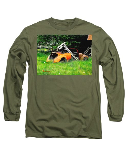 Long Sleeve T-Shirt featuring the photograph Bugsy by Sadie Reneau