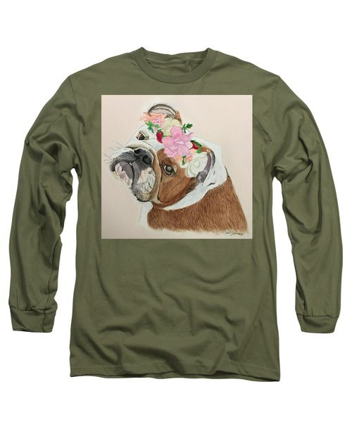 Bulldog Bridesmaid Long Sleeve T-Shirt