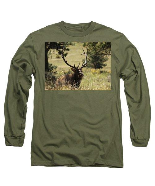 Bullelk1 Long Sleeve T-Shirt