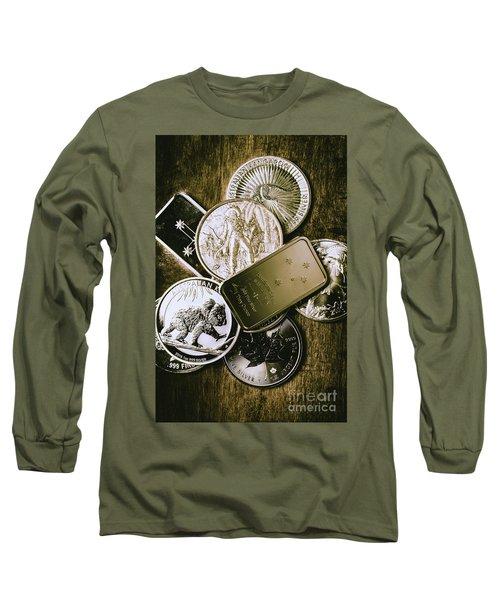 Bullion Wealth Stockpile Long Sleeve T-Shirt