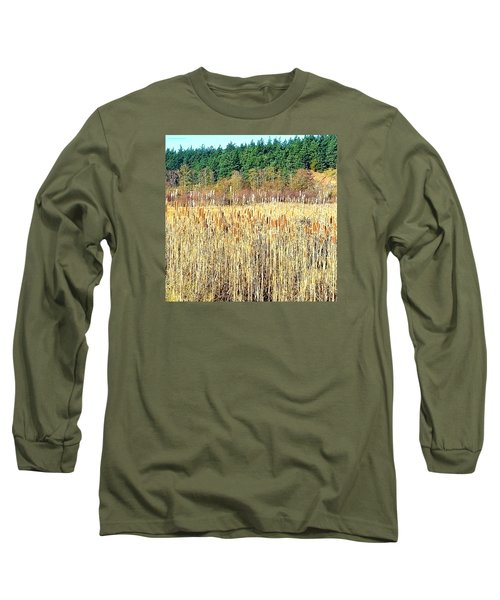 Bullrushes In Late November Long Sleeve T-Shirt