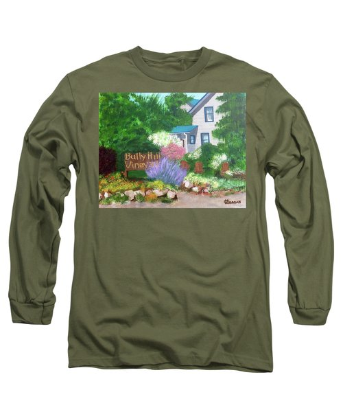 Bully Hill Vineyard Long Sleeve T-Shirt by Cynthia Morgan