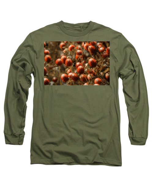 Bumble Bee Heaven Long Sleeve T-Shirt by Sherman Perry