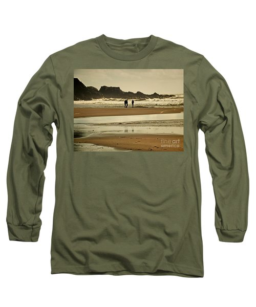 Bunmahon Beach 2  Coppercoast  Long Sleeve T-Shirt