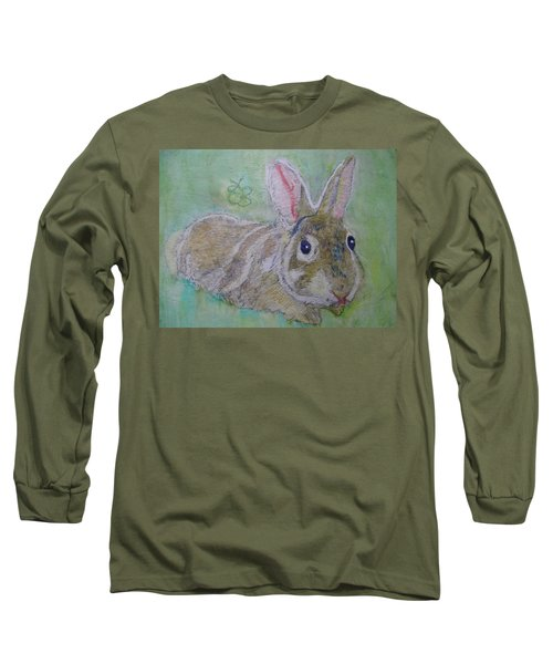 bunny named Rocket Long Sleeve T-Shirt