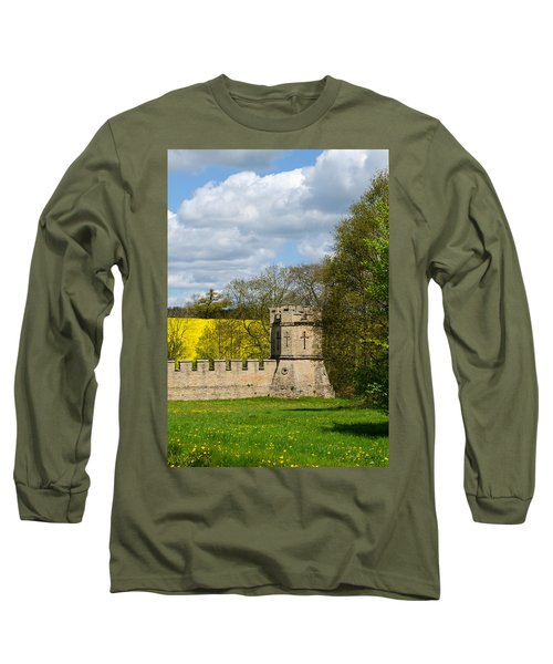 Burghley House Fortifications Long Sleeve T-Shirt