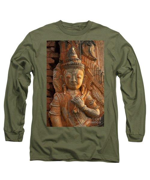 Long Sleeve T-Shirt featuring the photograph Burma_d187 by Craig Lovell
