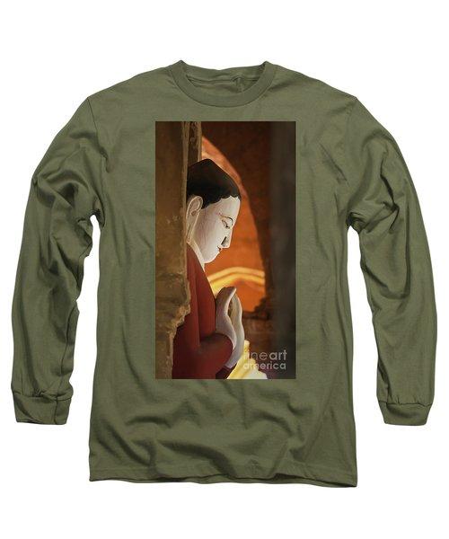 Long Sleeve T-Shirt featuring the photograph Burma_d2287 by Craig Lovell