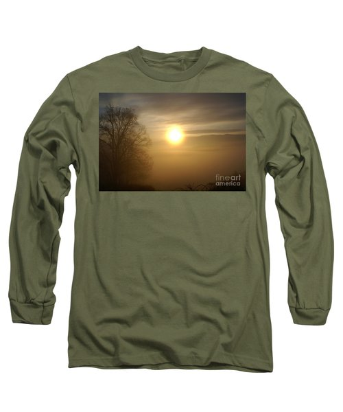 Burning Off The Fog Long Sleeve T-Shirt