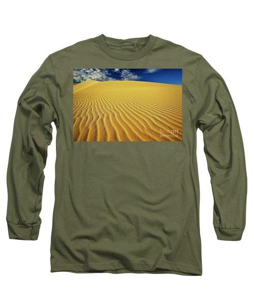 Burning Up At The White Sand Dunes - Mui Ne, Vietnam, Southeast Asia Long Sleeve T-Shirt