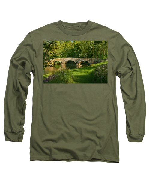 Burnside Bridge Long Sleeve T-Shirt