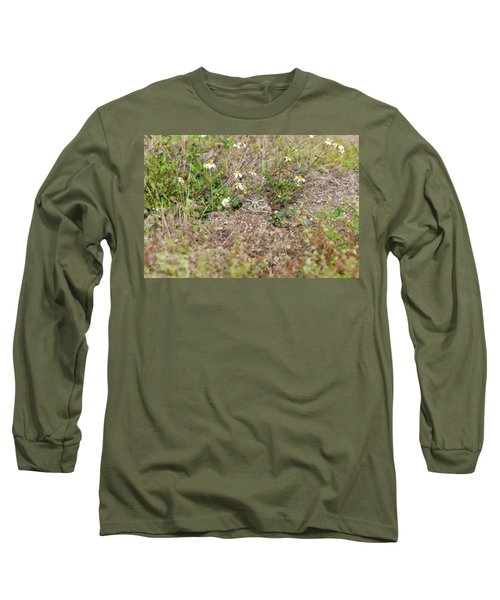 Burrowing Owl Outside His Home Long Sleeve T-Shirt