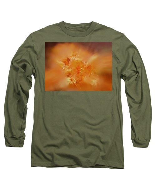 Burst Of Gold Long Sleeve T-Shirt
