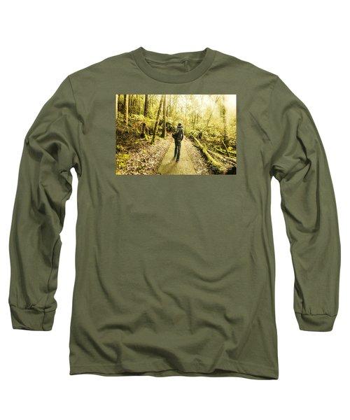 Long Sleeve T-Shirt featuring the photograph Bushwalking Tasmania by Jorgo Photography - Wall Art Gallery