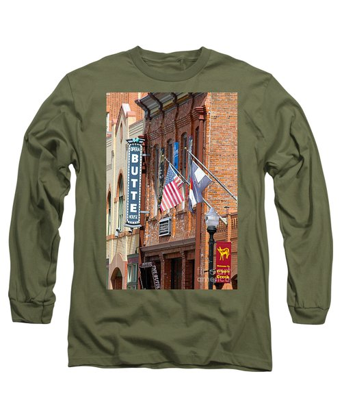 Butte Opera House In Colorado Long Sleeve T-Shirt